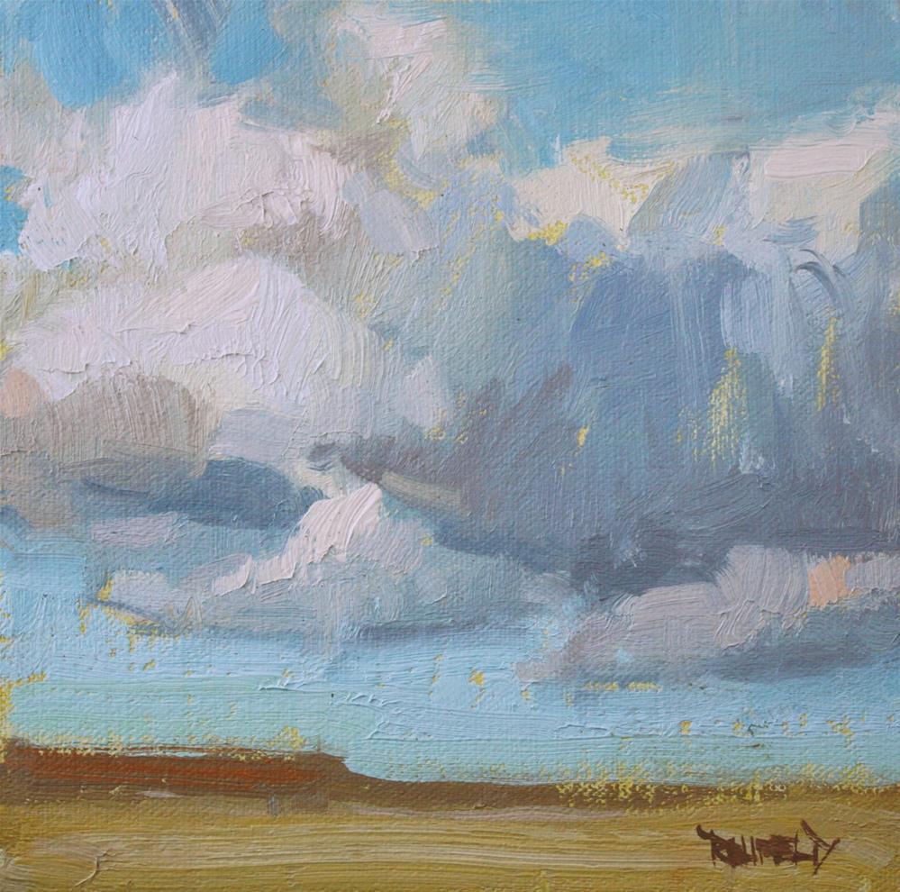 """Oregon Desert"" original fine art by Cathleen Rehfeld"