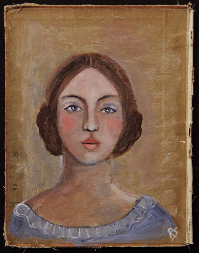 """She Was Your Favorite Character"" original fine art by Roberta Schmidt"