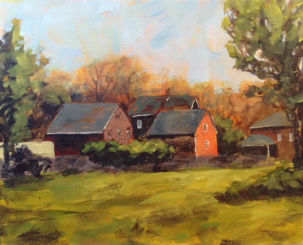 """Homestead"" original fine art by Shannon Bauer"