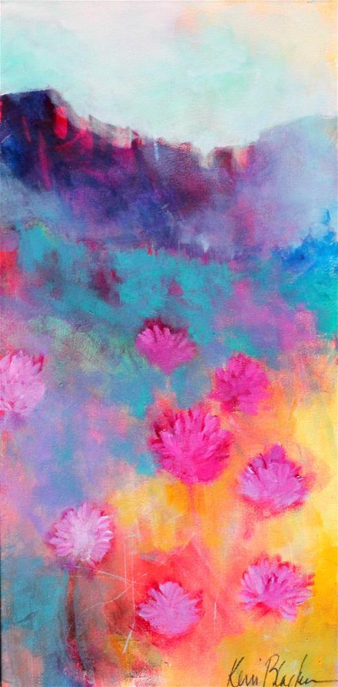 """Canyons and Clover"" original fine art by Kerri Blackman"
