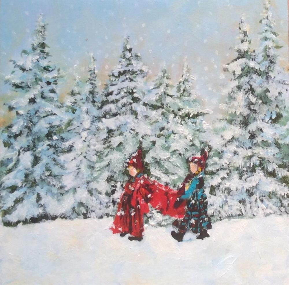 """Hurry Home"" original fine art by wendy black"