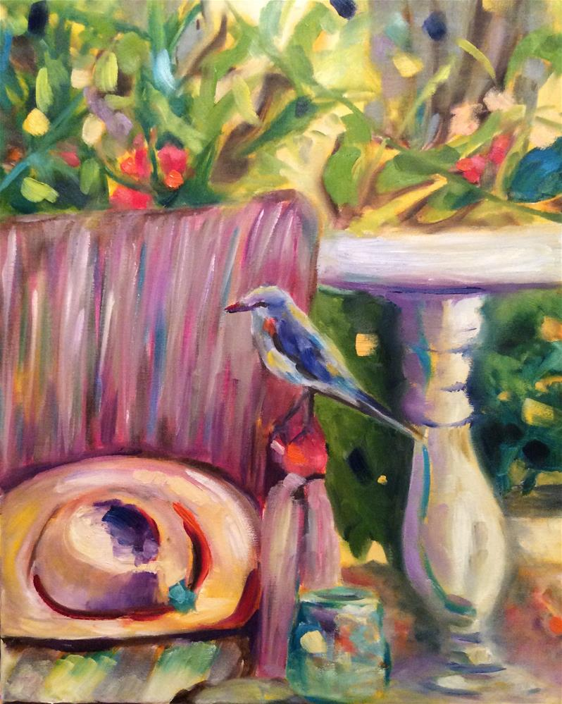 """""""Two's Company"""" original fine art by Molly Rohrscheib Hathaway"""