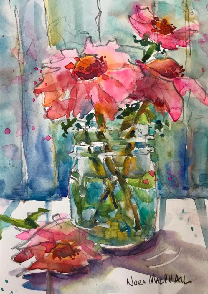 """jewels"" original fine art by Nora MacPhail"