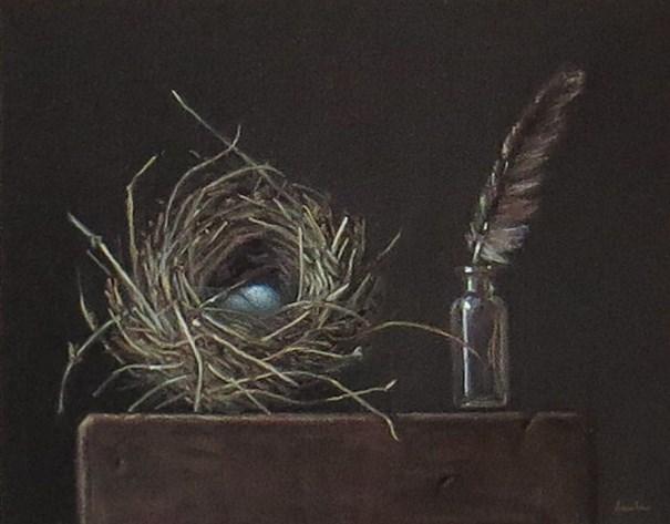 """Study in Gray"" original fine art by Darla McDowell"