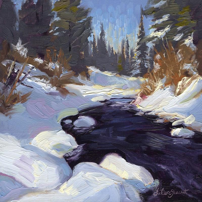 """Season of Glass & Edge"" original fine art by B. Rex Stewart"