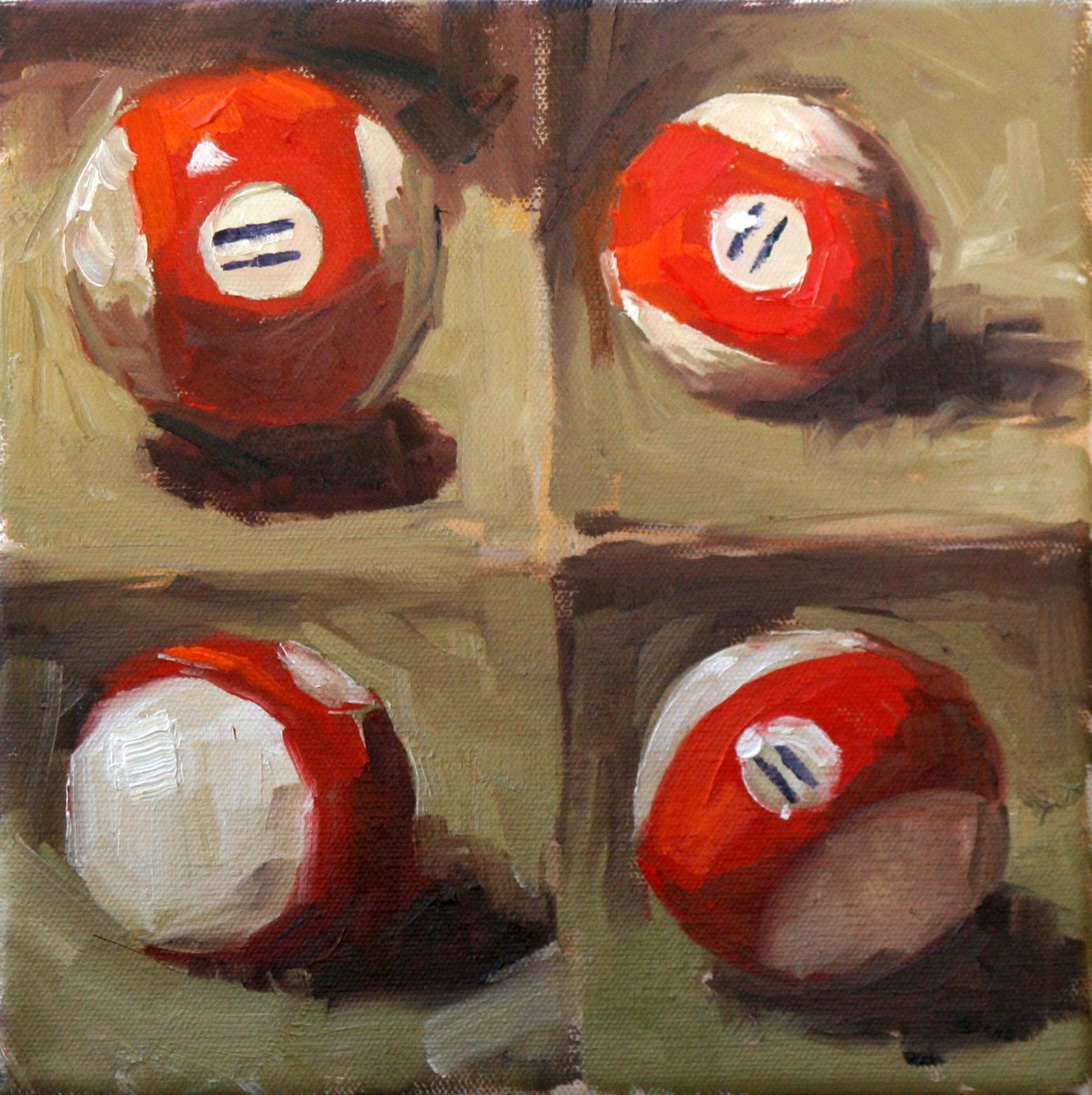 """eleven"" original fine art by Carol Carmichael"