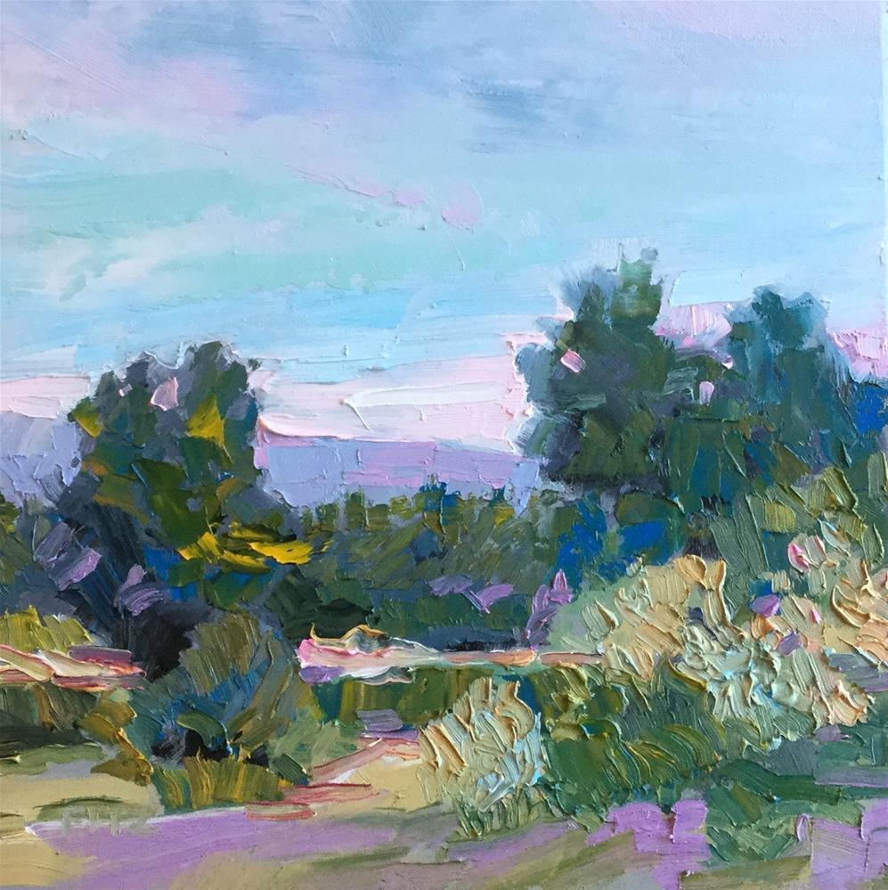 """Windy Day"" original fine art by Charlotte Fitzgerald"