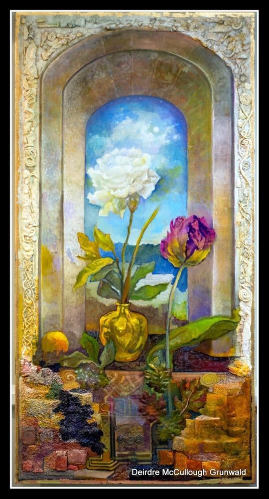"""Threshold I"" original fine art by Deirdre McCullough Grunwald"