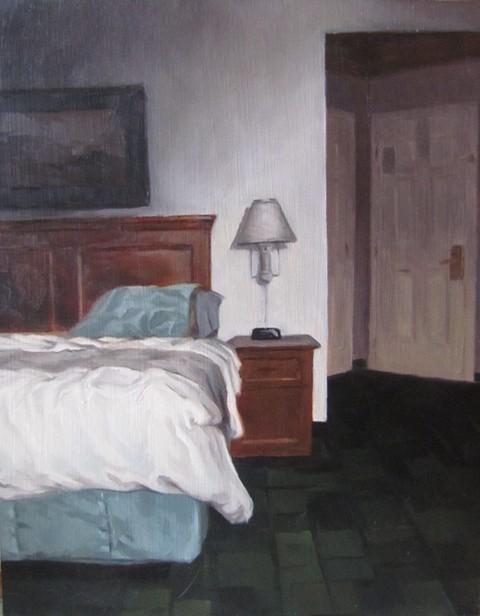 """42 - LaQuinta"" original fine art by Edward Watson"