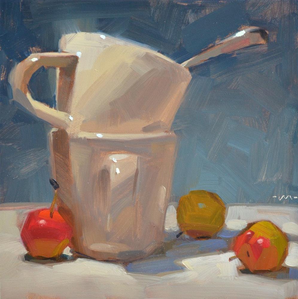 """Curious Spoon"" original fine art by Carol Marine"