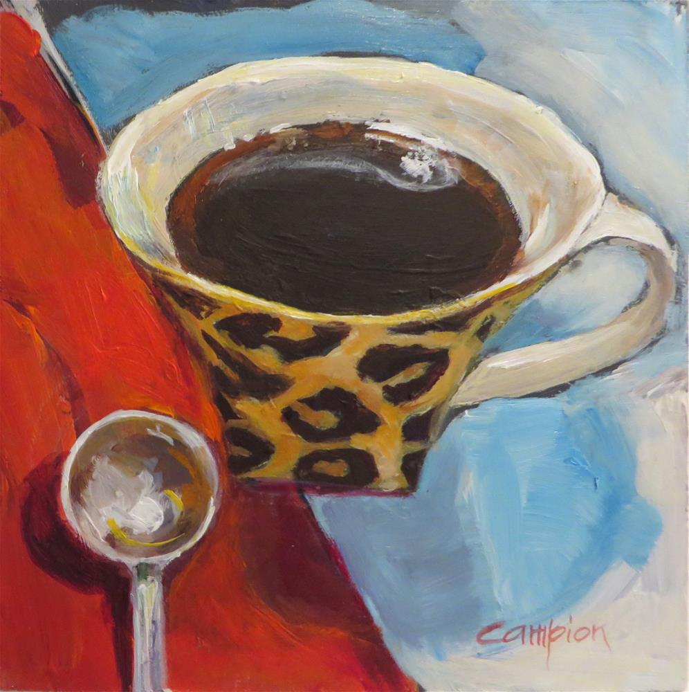 """344 Cuppa Joe"" original fine art by Diane Campion"
