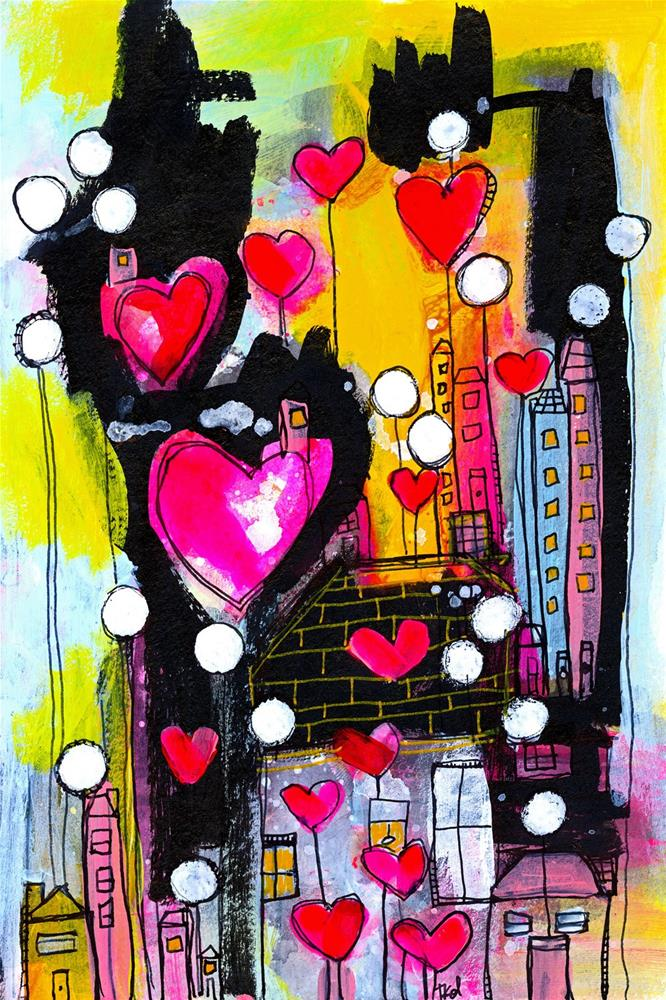 """1026 Love Lane"" original fine art by Tonya Doughty"