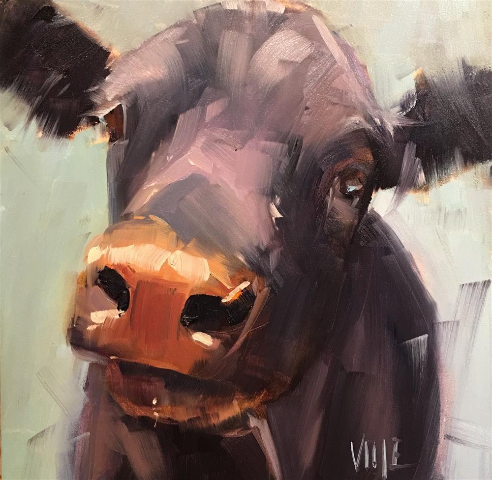 """#366 Eleanor"" original fine art by Patty Voje"