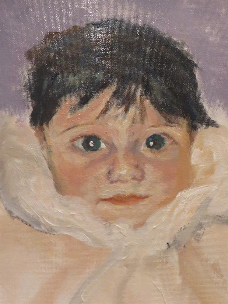 """734 Best Baby on Earth"" original fine art by Diane Campion"