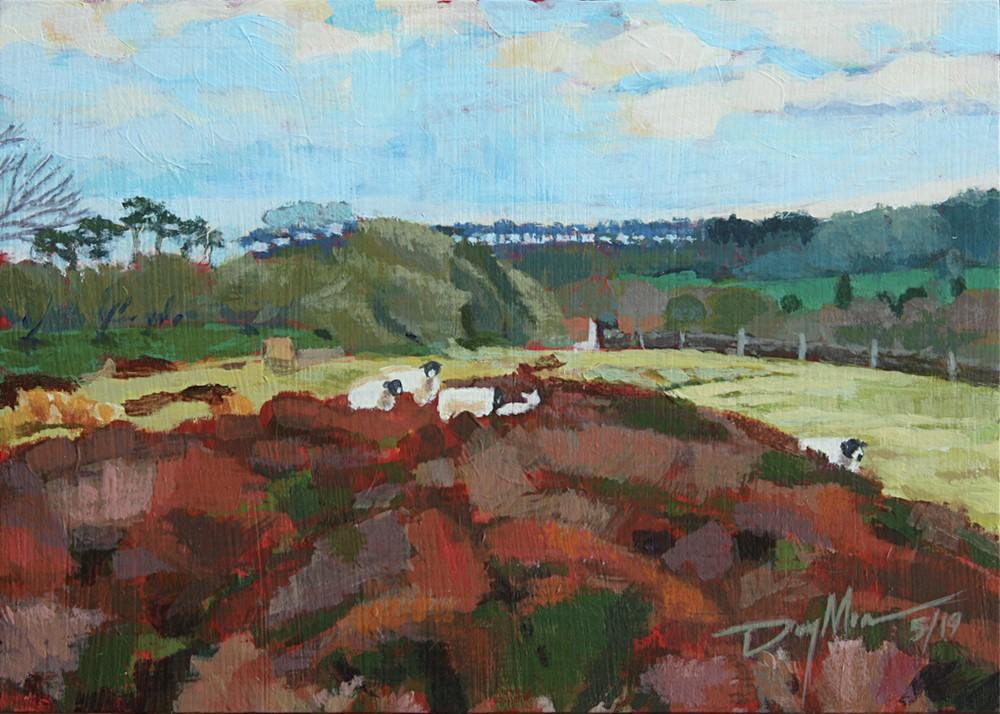 """Kellas' Lamb"" original fine art by Mike Daymon"