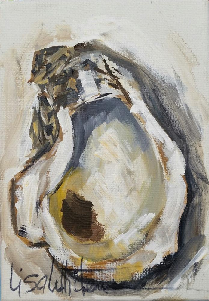 """13 - Mixed emotions"" original fine art by Lisa Rogers"