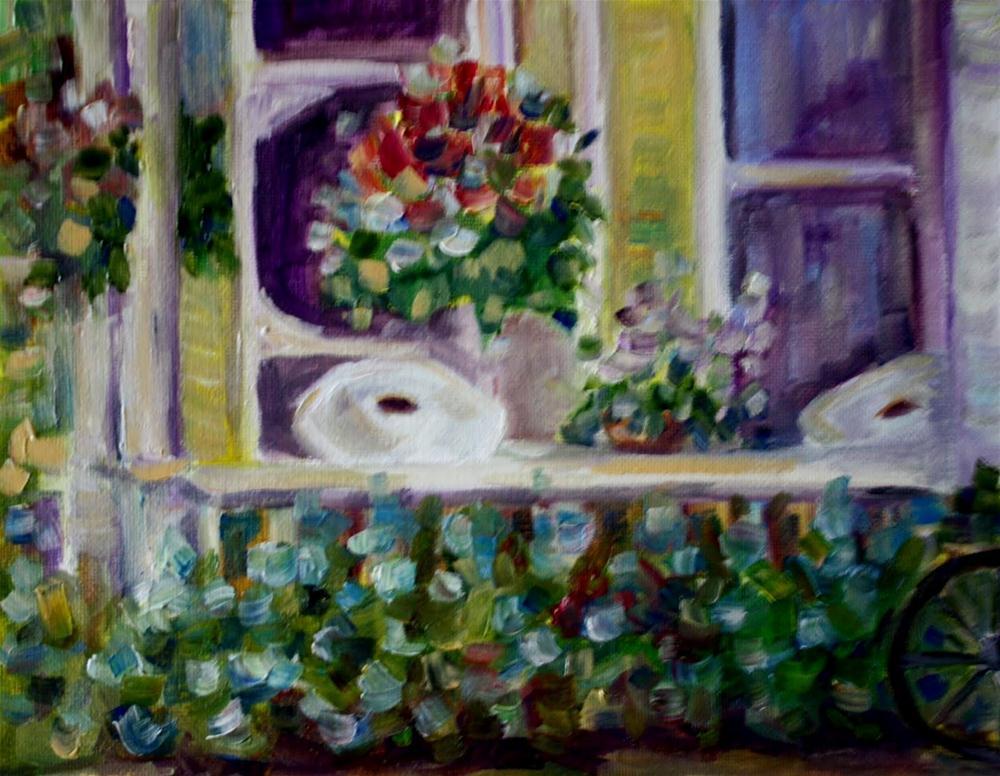 """""""Crop Challenge"""" original fine art by Maggie Flatley"""