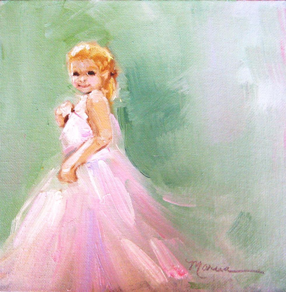 """Dress Up"" original fine art by Marcia Hodges"