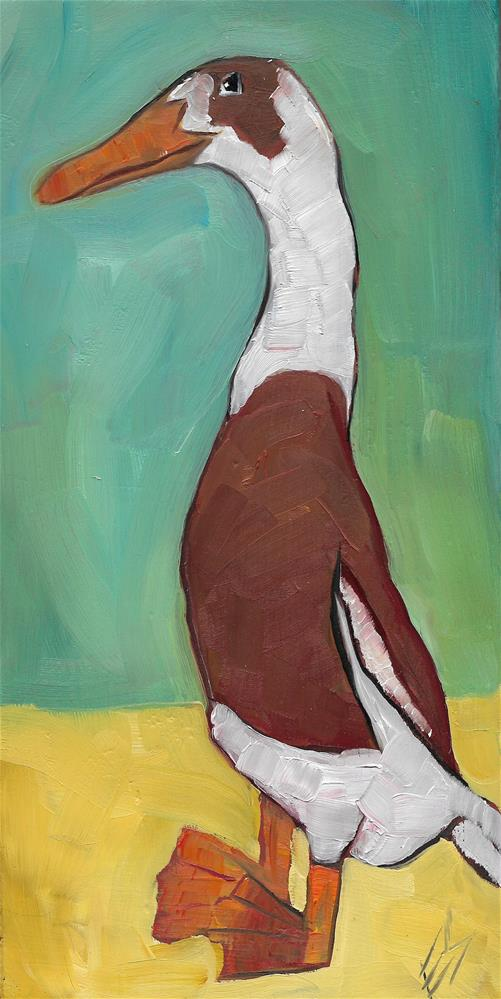 """Duck "" original fine art by Elizabeth See"