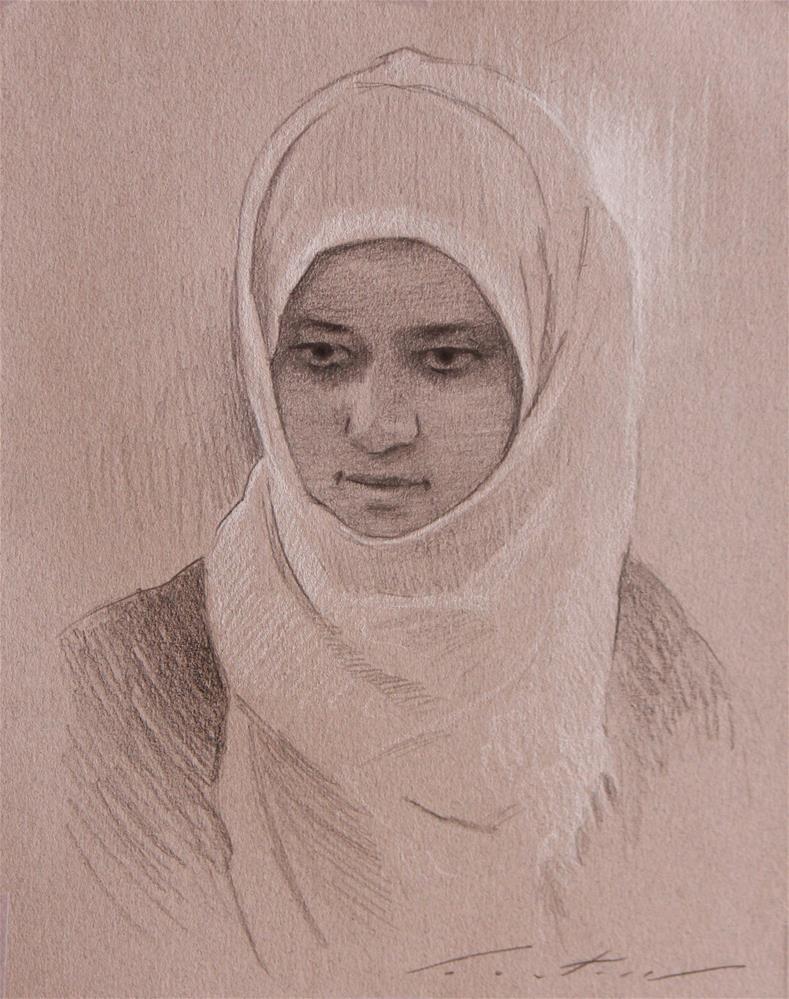 """""""Portrait"""" original fine art by Phil Couture"""