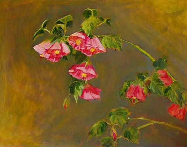"""Chinese Maple"" original fine art by Cietha Wilson"