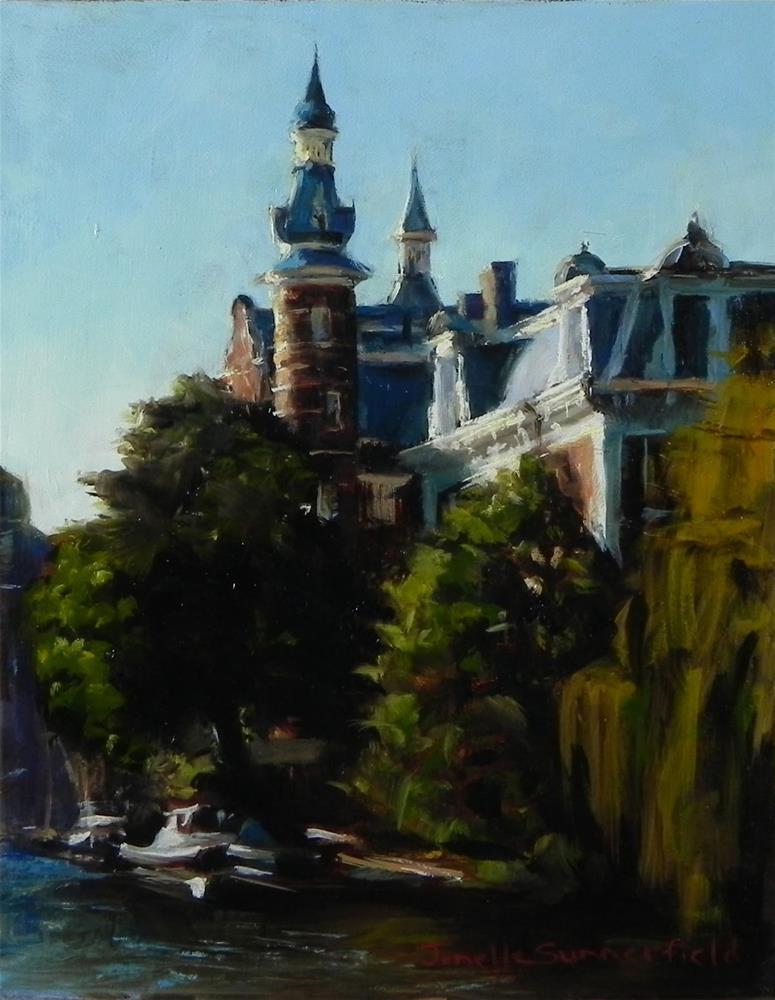 """Springtime in Amsterdam"" original fine art by Jonelle Summerfield"