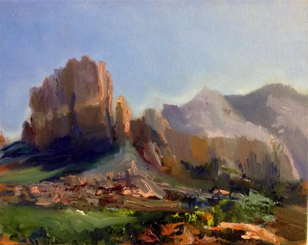"""""""Sedona Rocks!"""" original fine art by Cathy Boyd"""
