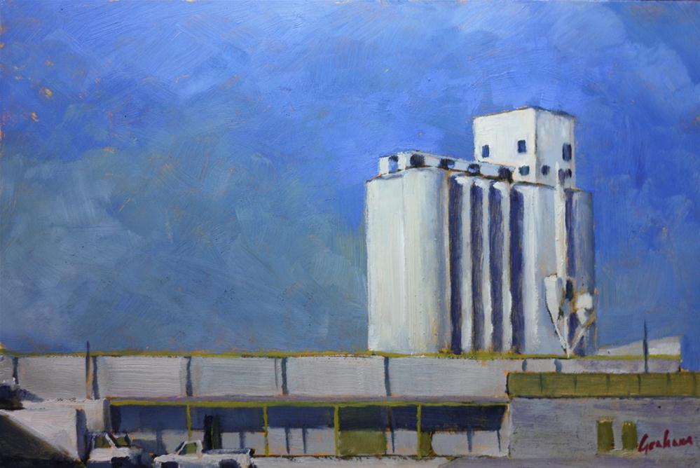 """Feeders Grain – Phoenix 5"" original fine art by Graham Townsend"