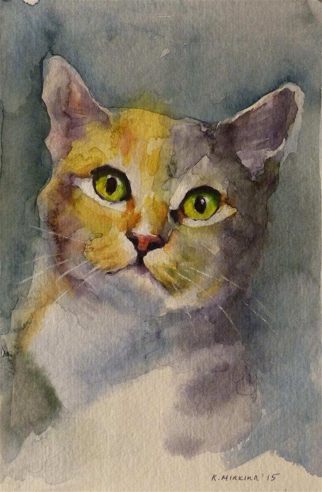 """adopt83"" original fine art by Katya Minkina"