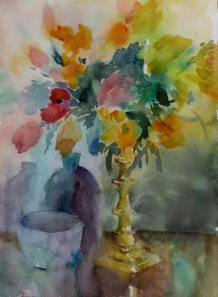 """Appreciation"" original fine art by Midori Yoshino"