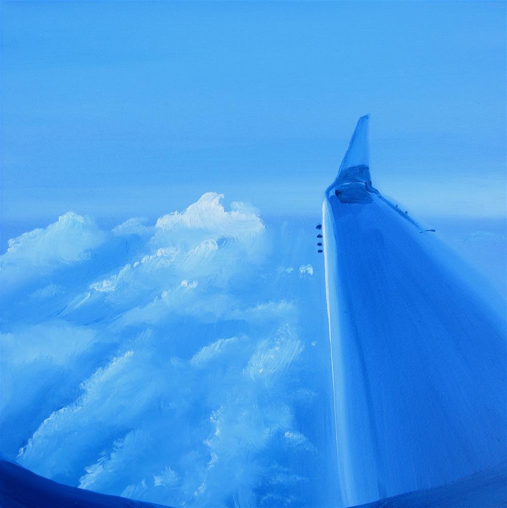 """Flight"" original fine art by Linda McCoy"