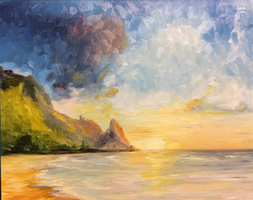 """Ocean Colors"" original fine art by Kim Clay"