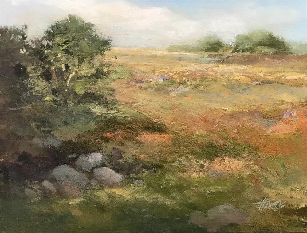 """Day Trip"" original fine art by Helen Harris"