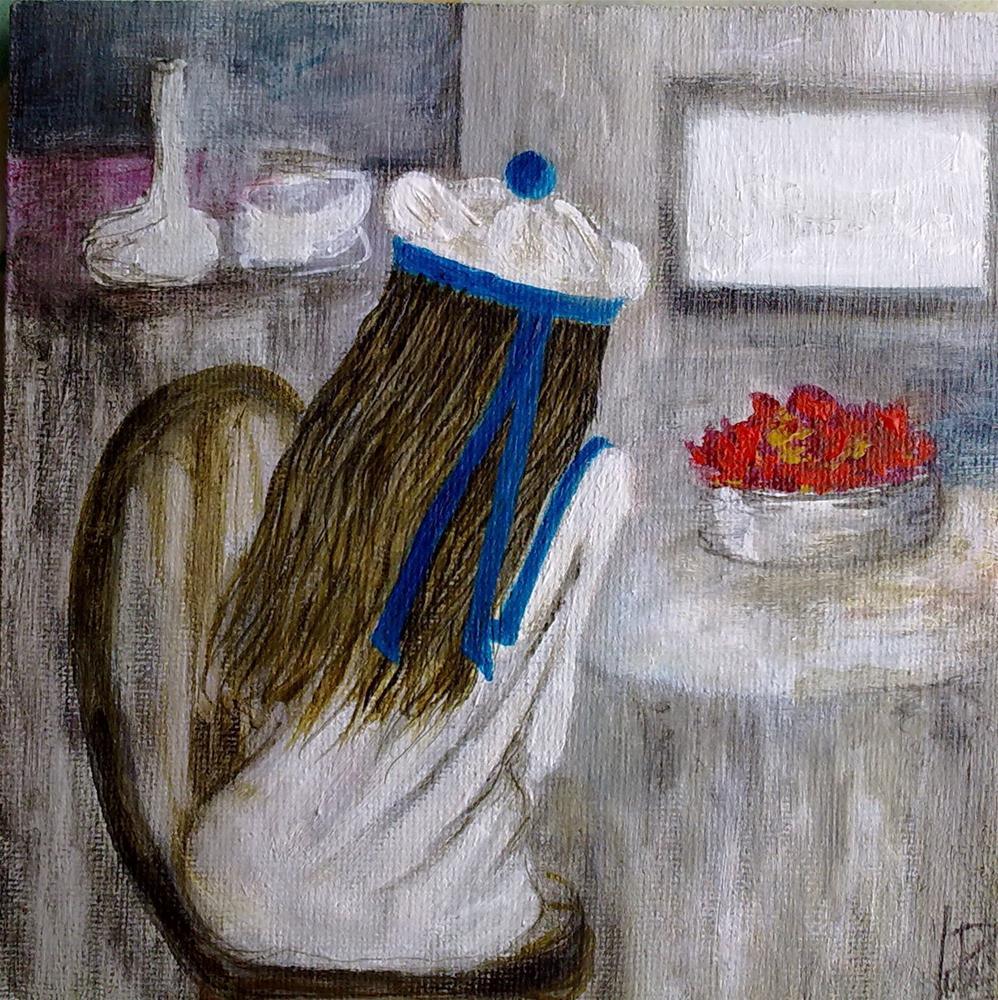 """""""Alice"""" original fine art by Monica Pinotti"""