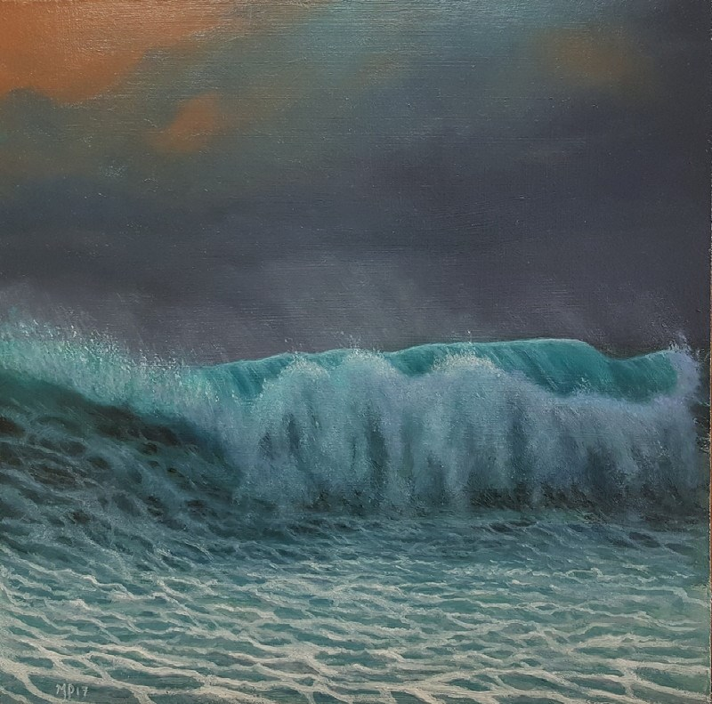 """""""At Last Light"""" original fine art by Mario Parga"""