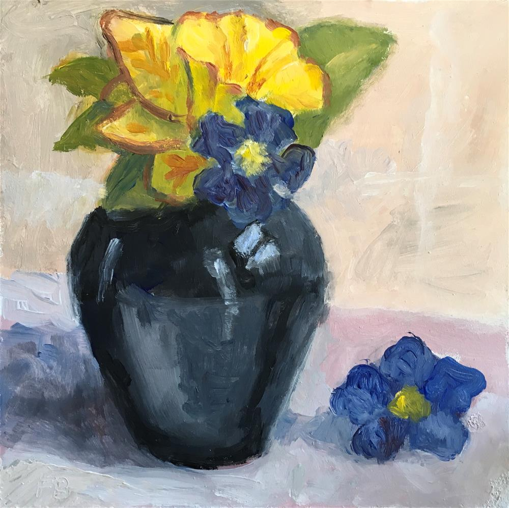 """""""253 Friday's Flowers"""" original fine art by Fred Bell"""