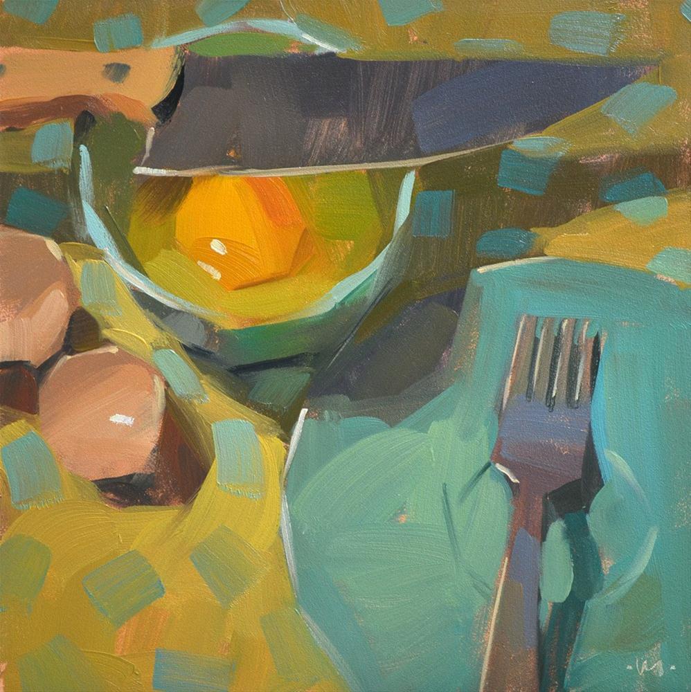 """Waiting for a Pardon"" original fine art by Carol Marine"