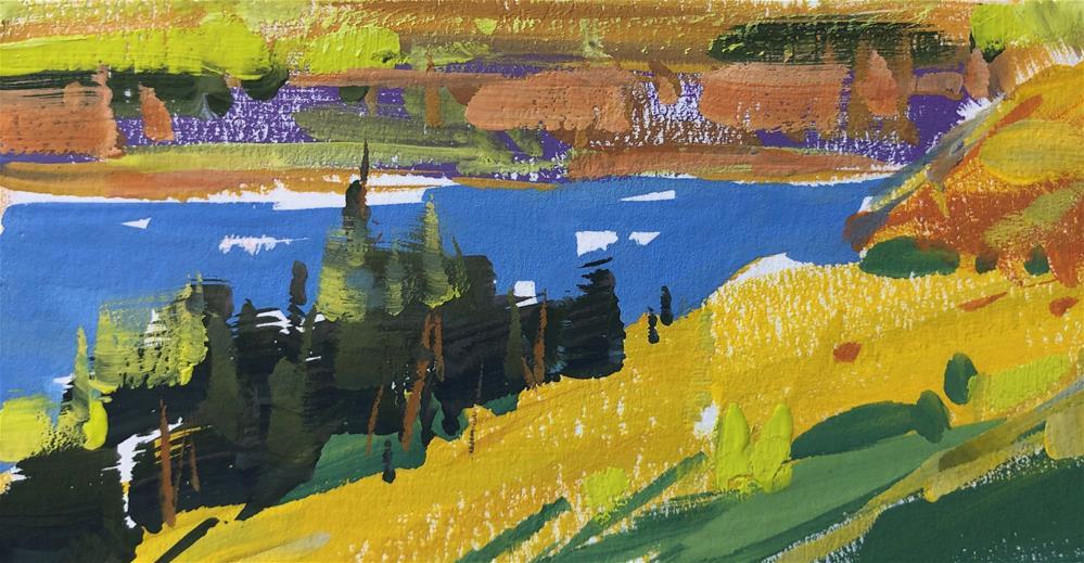 """Bright Day"" original fine art by Cathleen Rehfeld"