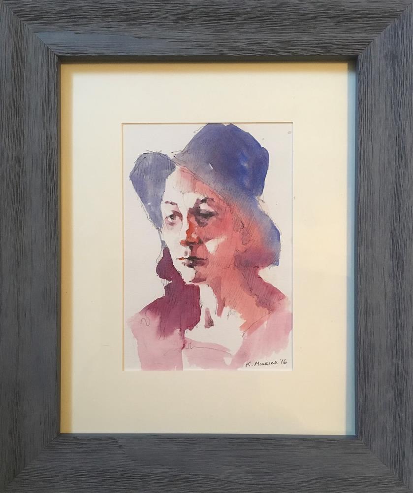 """sketchbook#34"" original fine art by Katya Minkina"