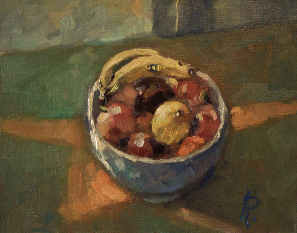 """Fruit Bowl"" original fine art by Andre Pallat"