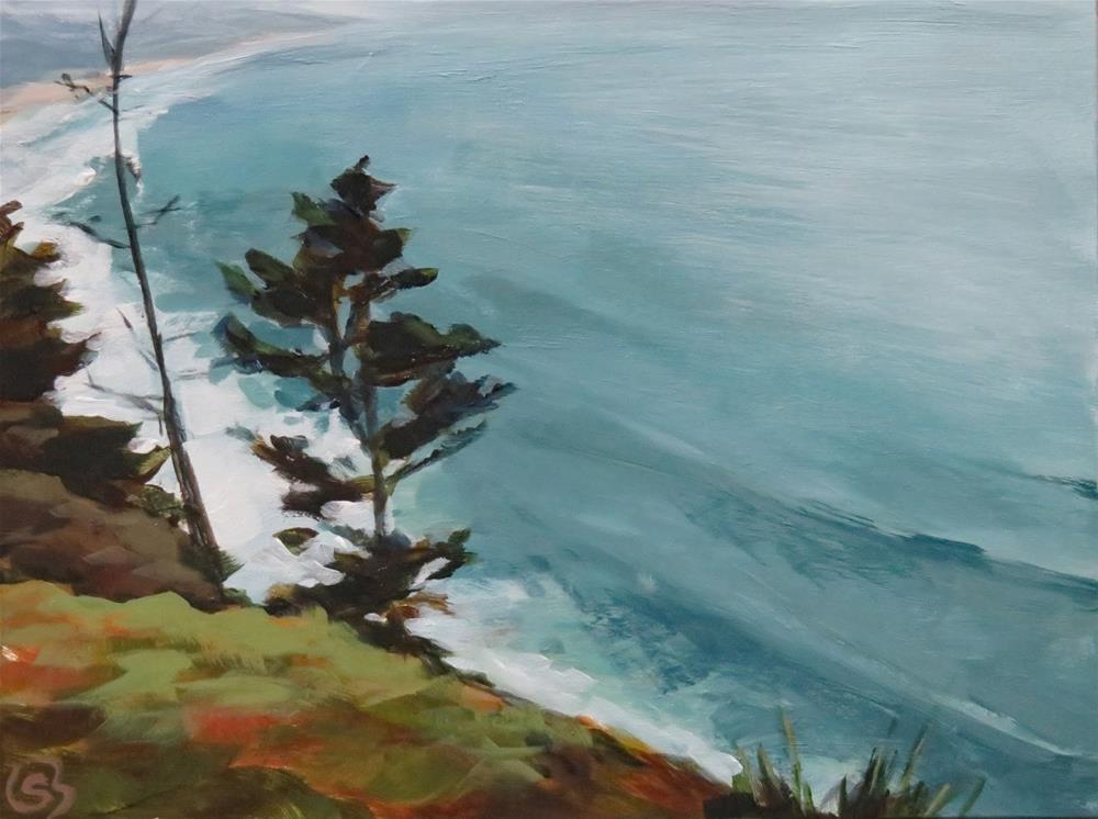 """Oregon Coast"" original fine art by Shari Buelt"