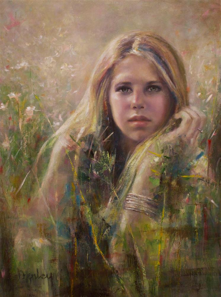 """""""Enchantment In The Grass"""" original fine art by Denise Henley"""