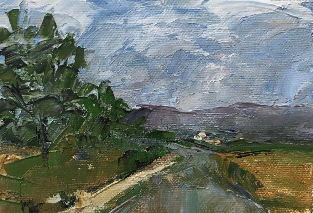 """Majorca"" original fine art by Christine Parker"