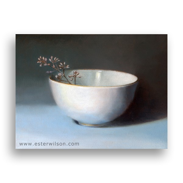 """The Gold Rim"" original fine art by Ester Wilson"