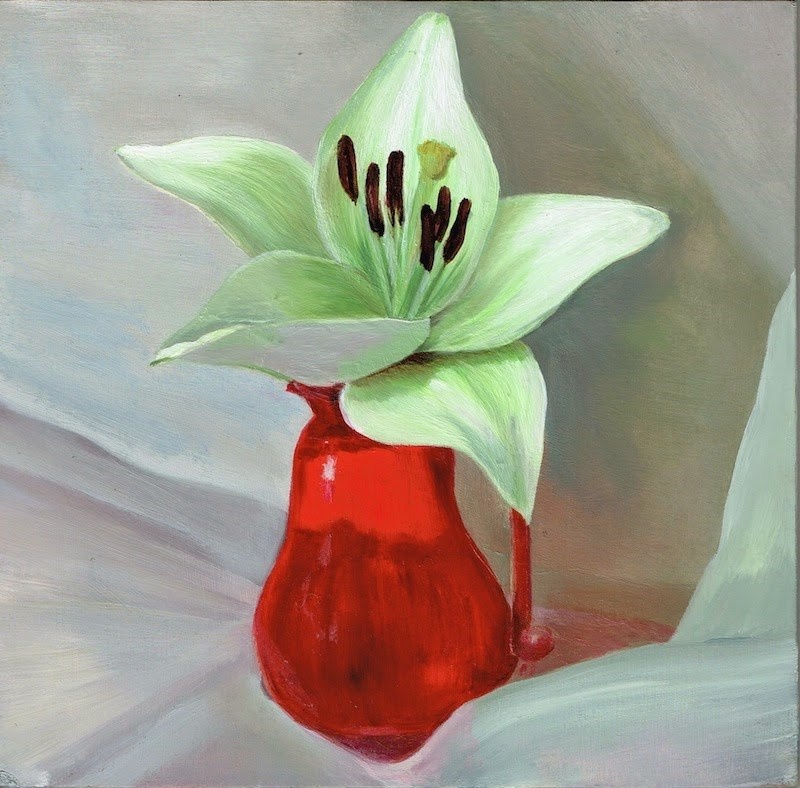 """Lilium"" original fine art by Karen Stitt"