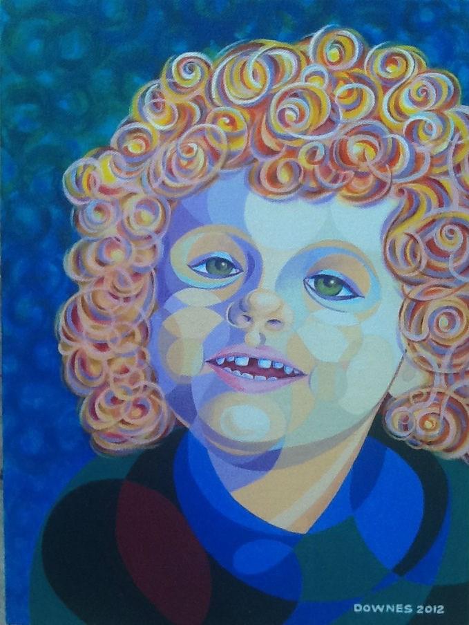 """""""358 DEE DEE"""" original fine art by Trevor Downes"""