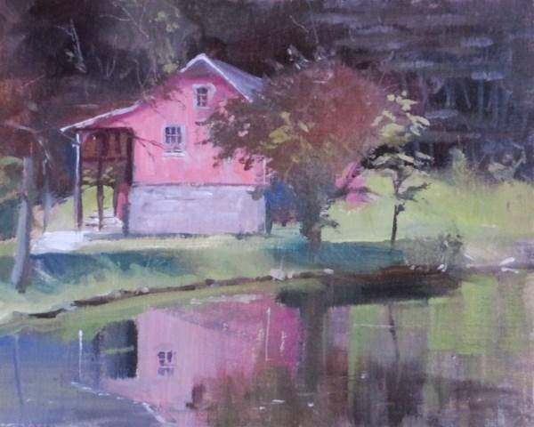 """In the Pink"" original fine art by Beth Bathe"