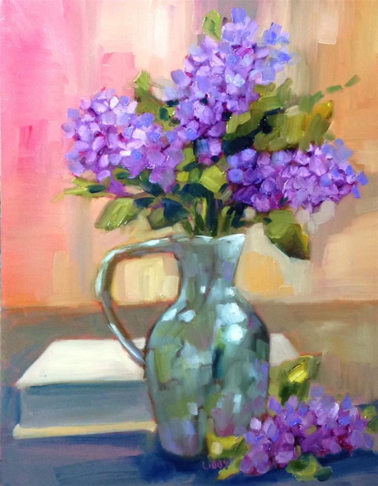 """""""Pearly Vessel"""" original fine art by Libby Anderson"""