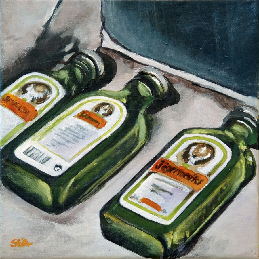 """1675 Jaegermeister"" original fine art by Dietmar Stiller"