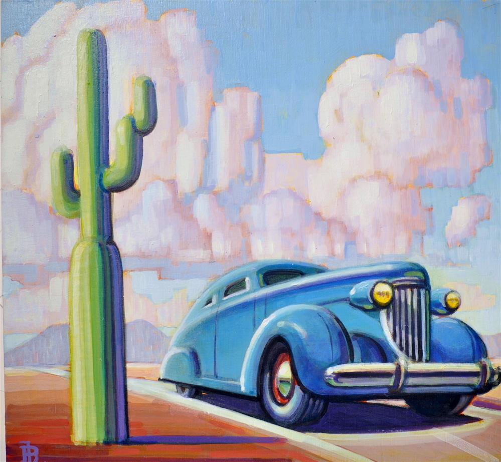 """Cactus"" original fine art by Robert LaDuke"